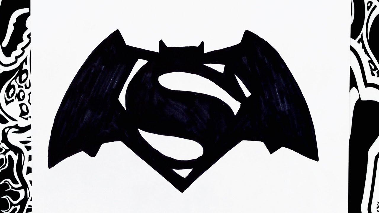 De Lapiz Superman Vs Dibujos Batman
