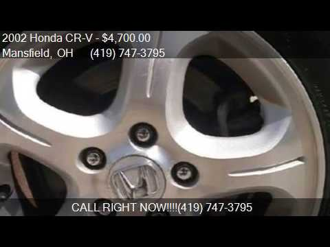 2002 Honda CR-V LX AWD 4dr SUV for sale in Mansfield, OH 449