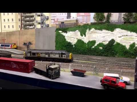 Newbury model railway exhibition 11th Feb 2017
