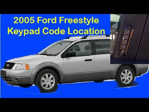 b1342 ford freestyle