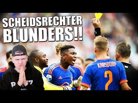 TOP 10 SCHEIDSRECHTER BLUNDERS IN VOETBAL! 3X GEEL!!