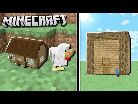 smallest house vs largest house in the world in minecraft - Smallest House In The World Minecraft