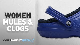 Cyber Monday Women Mules & Clogs: Crocs Unisex Classic Lined Clog