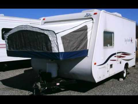 2007 Jayco 17c Jay Feather Export Travel Trailer Camper Rv
