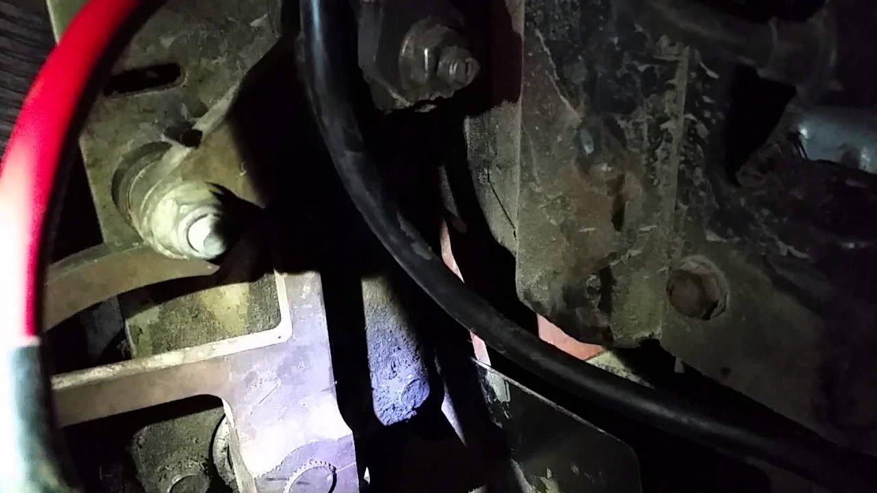 John Deere F525 Mower  U0026quot Creeps U0026quot  Forward