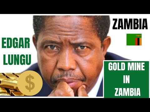 ZAMBIAN 🇿🇲 PRESIDENT EDGAR LUNGU VISIT TO MWINILUNGA GOLD MINE