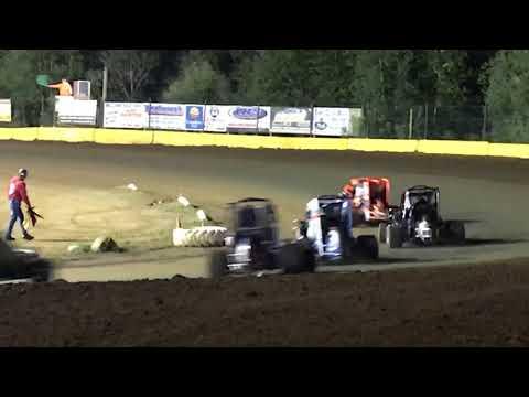 Paul Richards Hamlin Speedway Wingless 600 9.9.17