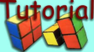 How to Make a 2x2x1 Rubik's Cube - Easy!!!