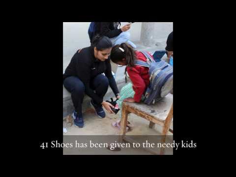9th 10000 Shoe Giving Campaign - at Pratigya Society Thapar University Patiala