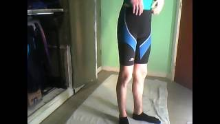 Mijn lycra spandex korte strakke loopbroeken - my short tight running pants
