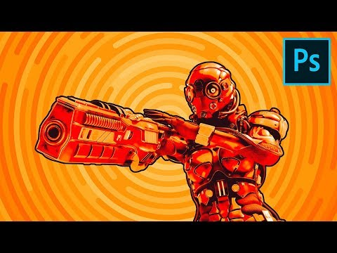 Create An Action Comic Look In 5 Steps With Photoshop!