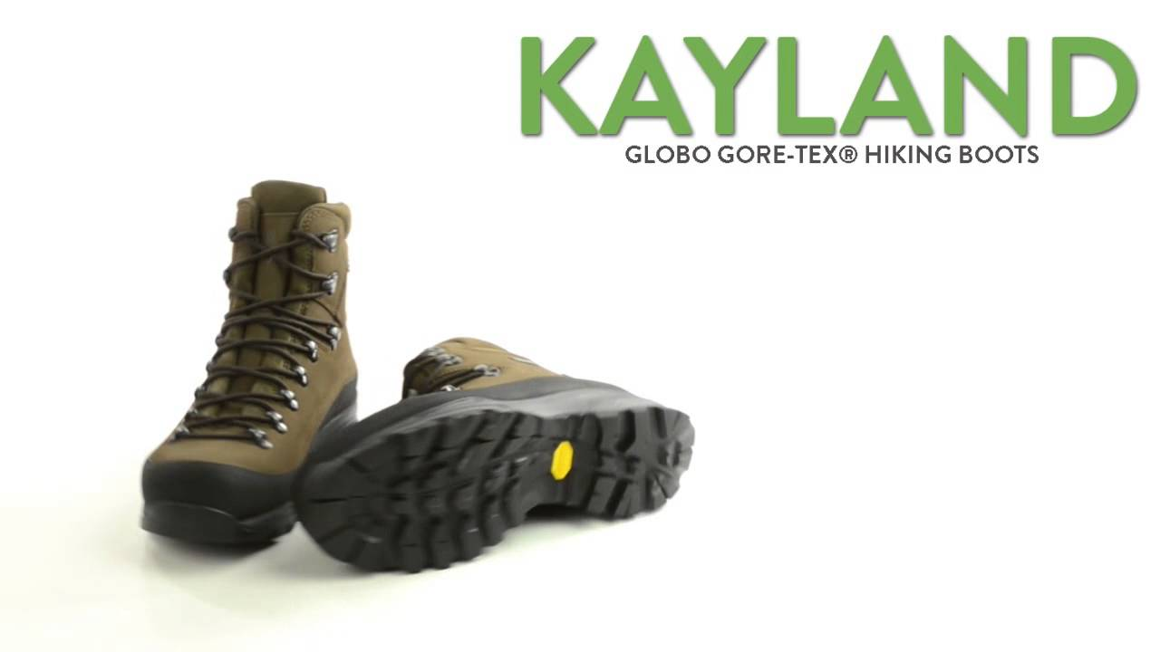 Kayland Globo Gore-Tex® Hiking Boots - Waterproof (For Men) - YouTube db70bf5acd6