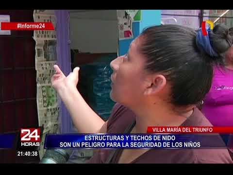 VMT: hallan centros escolares muy mal construídos