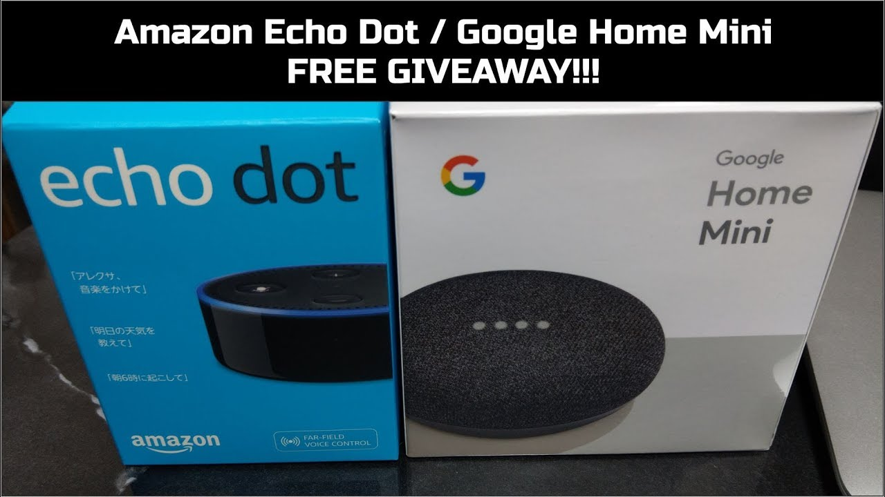 google home mini free giveaway