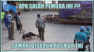 Download Apa Salah Pemuda ini ?? Sampai Disuruh Push Up TNI di Sitinjau Lauik