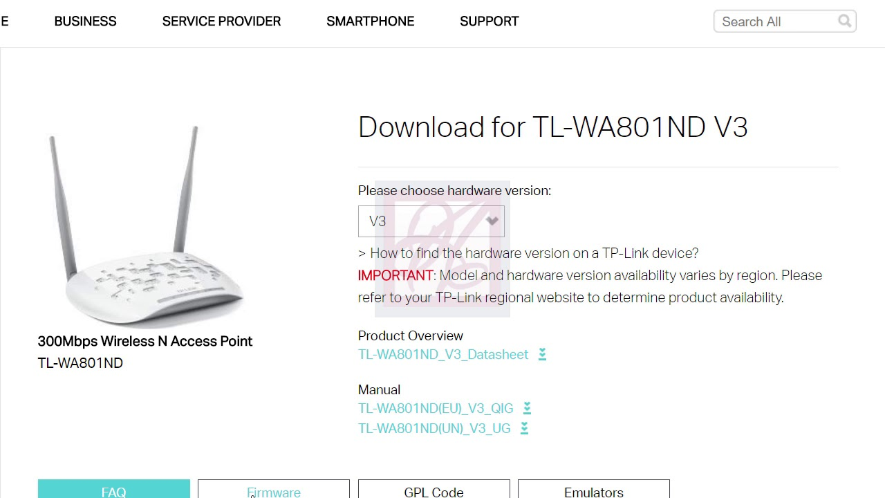 TP link How to Upgrade Firmware TL WA801ND