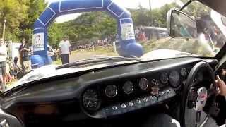 ford gt40 mk3 v8 sound test et prsentation rallye monte historique urcy