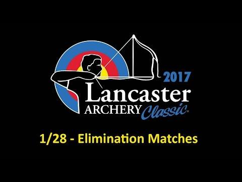2017 Lancaster Archery Classic Elimination Matches