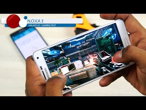 Samsung Galaxy A7 - Gaming Test (in 60 FPS)