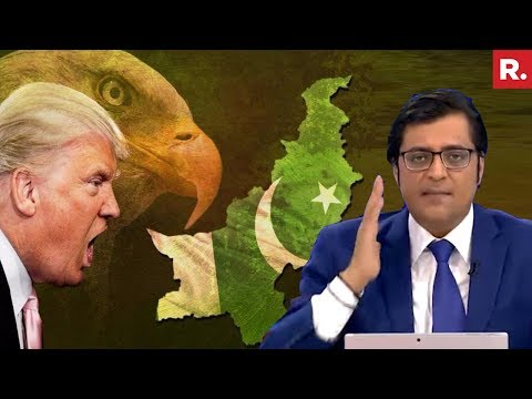 Donald Trump EXPOSED Pakistan On The Global Stage | The Debate With Arnab Goswami