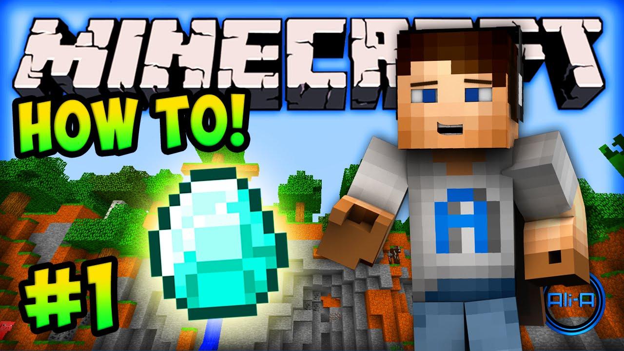 """MINECRAFT (How To Minecraft) - Episode #11 - """"THE FUN BEGINS!"""""""