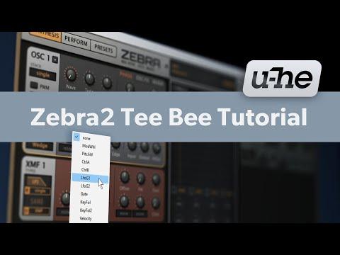 Zebra2 Tee Bee Tutorial