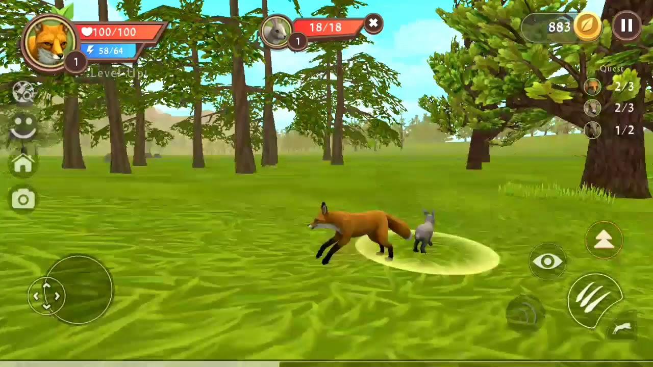 لعبة الذئب #23 | العاب حيوانات مفترسة animals Games | العاب اطفال