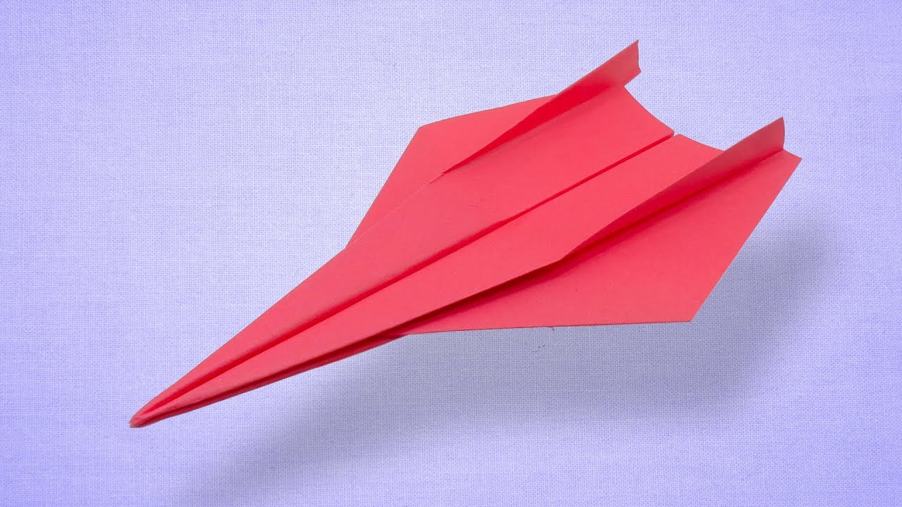 How To Make Long Range Flying Paper Airplane Fold Incredible Fast Plane You