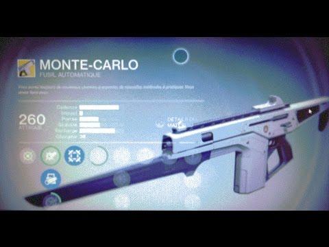 exotic auto rifle monte carlo vs mort rouge red death vs monte carlo