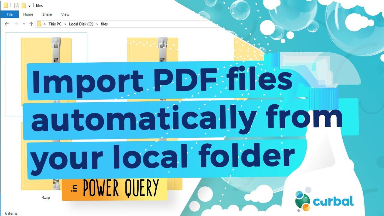 Import Pdf Files In Power Bi Automatically From Your Local Folder