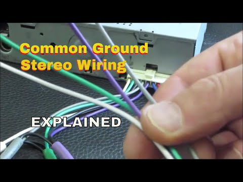 Wiring common ground speakers with an old school clic ... on admiral stereo, cb radio with car stereo, realistic stereo, webcor stereo, emerson stereo, hitachi stereo, basic car stereo, sylvania stereo, memorex stereo, braun stereo, craig stereo,