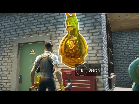 Search Midas' Golden Llama Between A Junk Yard, Gas Station And An RV Campsite