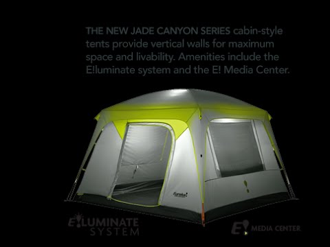 & Gear Review - Eureka Jade Canyon 6 Person Tent - YouTube