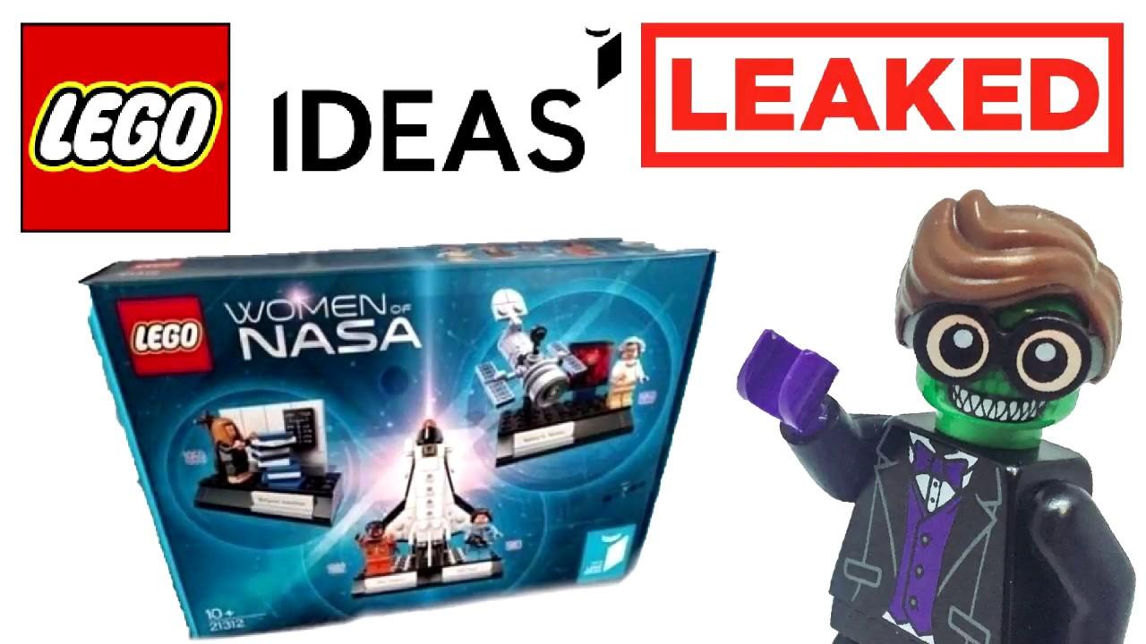 leaked lego ideas women of nasa set 2018 youtube. Black Bedroom Furniture Sets. Home Design Ideas