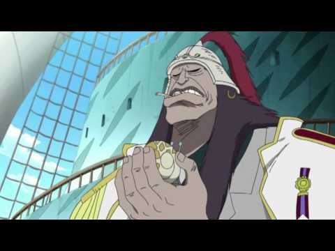 """Vice-Admiral Onigumo from """"One Piece"""" (series)"""