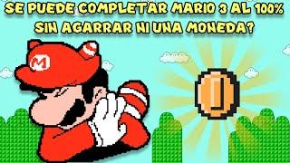 ¿Se Puede Completar Super Mario Bros 3 al 100% sin Agarrar NI UNA SOLA MONEDA? - Pepe el Mago