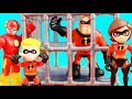 Incredibles 2 Dash And Imaginext Justice League Rescue Green Lantern & Mr. Incredible From Jail