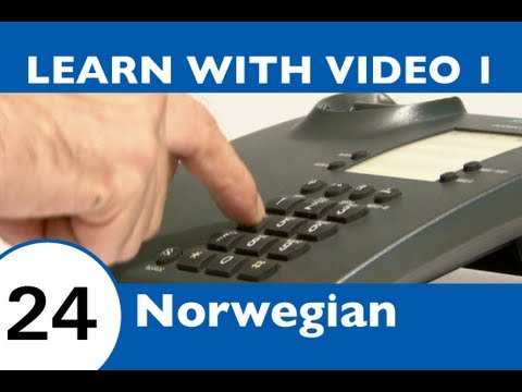 Learn Norwegian with Video - Working With Your Dutch Skills!