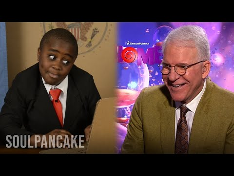 Kid President and Steve Martin: Together At Last!