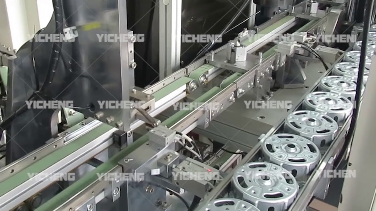 Fan Motor Housing Assembly & Greasing Automatic Production ...