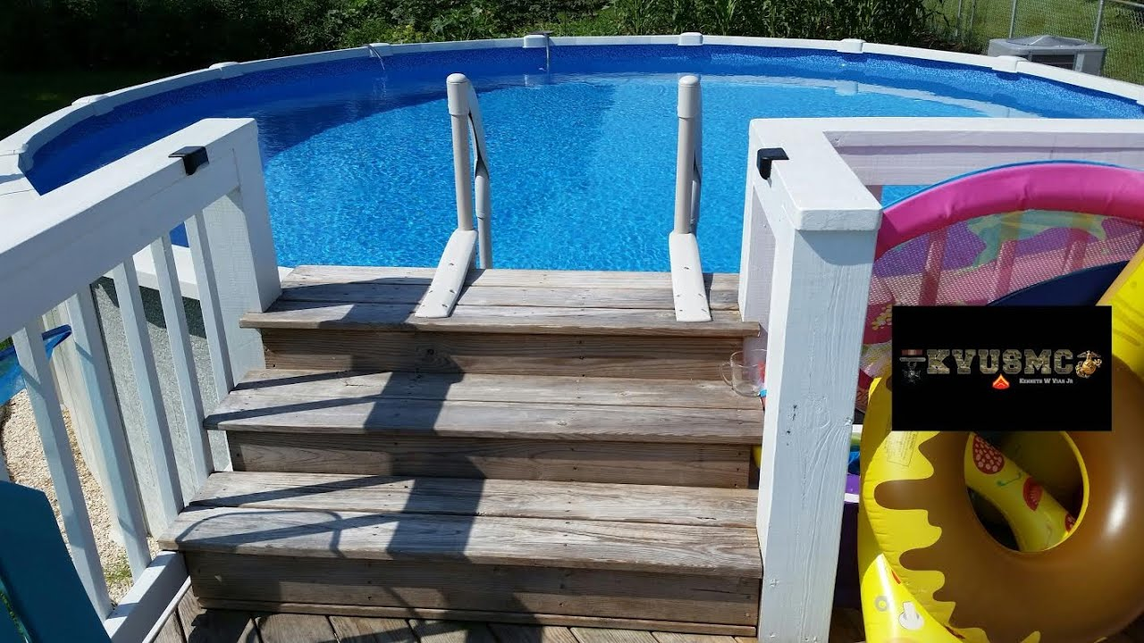 Step Deck Platform For Saltwater 8000 21 Ft X 54 Inch Tall Above