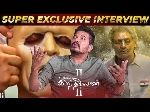 Indian 2 Make Up Test & Kamal's Surprise! | Shankar Opens Up | Part 1 | SM28