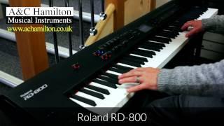 NORD Stage 2 EX 88 vs. Roland RD-800 - Product Comparison - A&C Hamilton