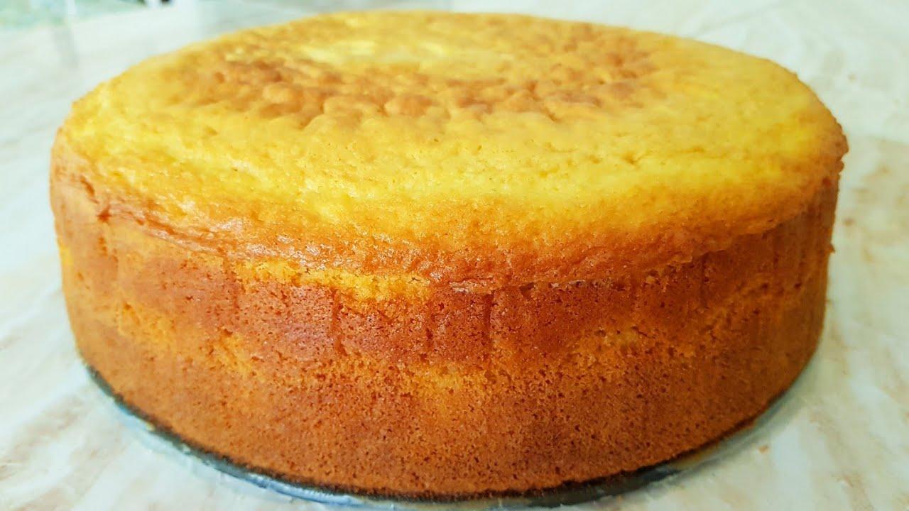 como hacer un bizcocho para torta de tres leches
