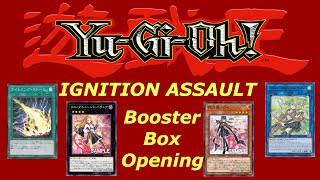 Yugioh Ignition Assault Booster Box Opening
