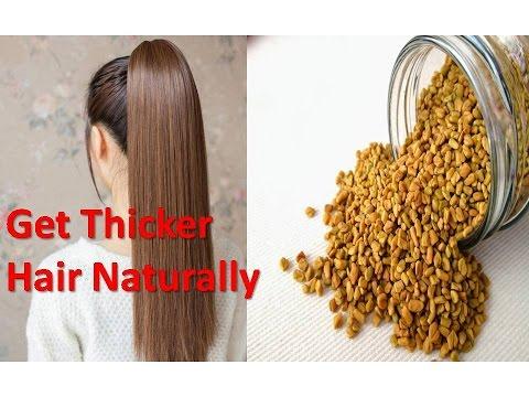 Get Fuller Thicker Hair Naturally