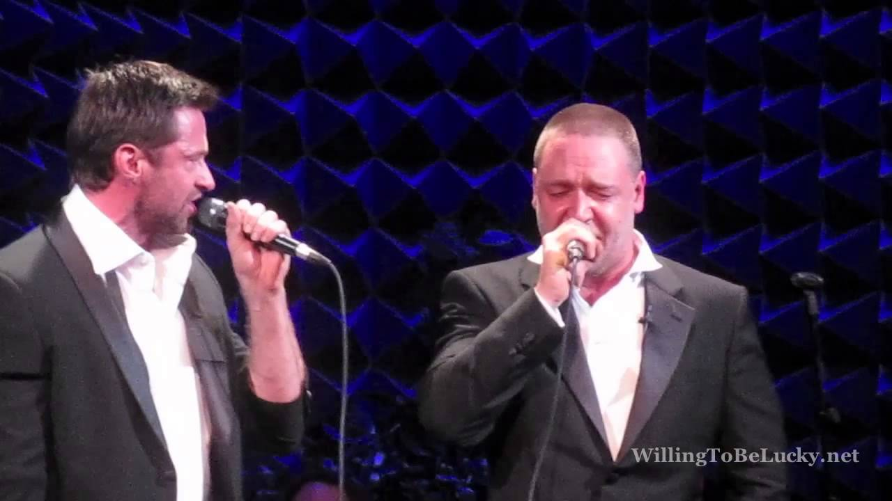 The Confrontation live at Joe's Pub - Hugh Jackman and Russell Crowe