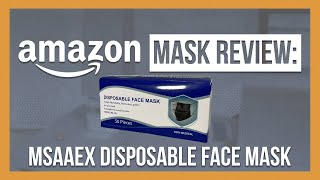 MSAAEX Disposable Face Mask Review