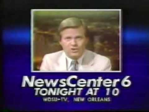 WDSU Channel 6 New Orleans May 23, 1984 News Bumper