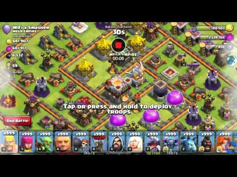 Clash of Clans Hack Attack 003 by Rora